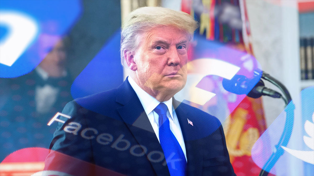 Facebook thông báo sẽ khóa tài khoản Cựu tổng thống Trump đến năm 2023, tức tròn 2 năm từ ngày khóa